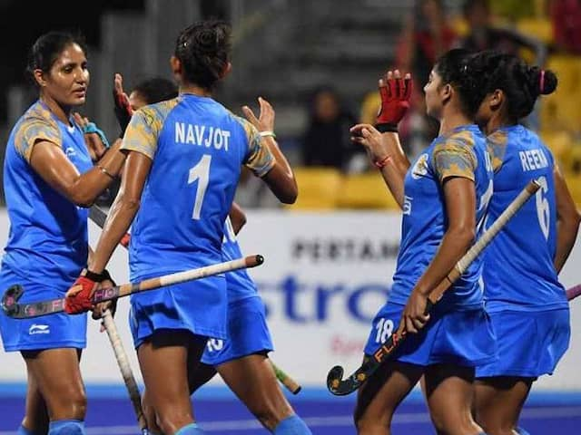Hockey: India women beat Thailand 5-0 to remain unbeaten in group stage