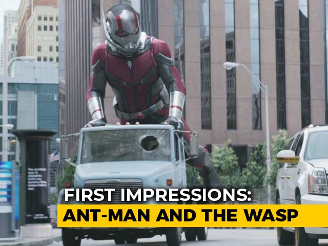 First Impressions Of Ant-Man And The Wasp