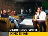 Video : Rapid Fire With SRK