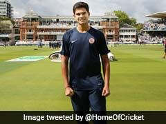 Arjun Tendulkar Lends Helping Hand To Lord
