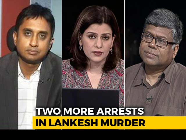 Video : More Arrests In Gauri Lankesh Murder: Illiberal India?
