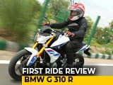 BMW G 310 R First Ride