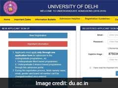 Delhi University Admission 2018: Online Application Process Begins, Here Is How To Apply