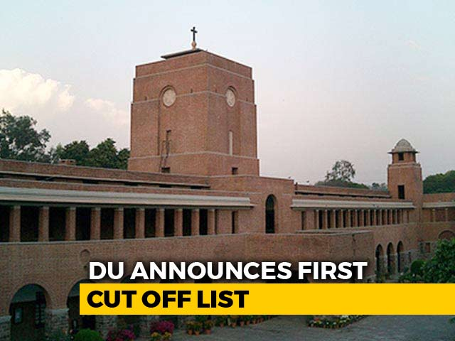 Video : DU First Cut Off List Out For Science, Arts, Commerce
