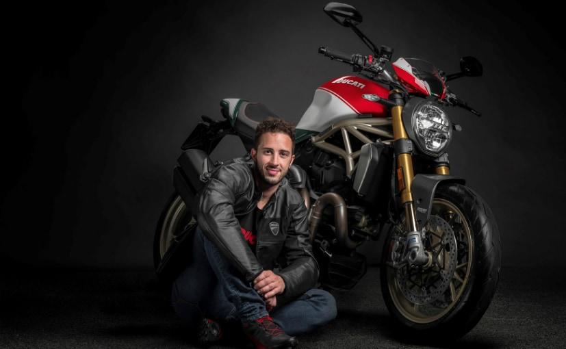 Andrea Dovizioso unveiled the 25th anniversary Ducati Monster 1200