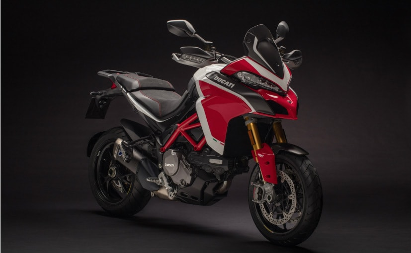 The Ducati Multistrada 1260 Pikes Peak is Rs. 5.43 lakh more expensive than the standard 1260