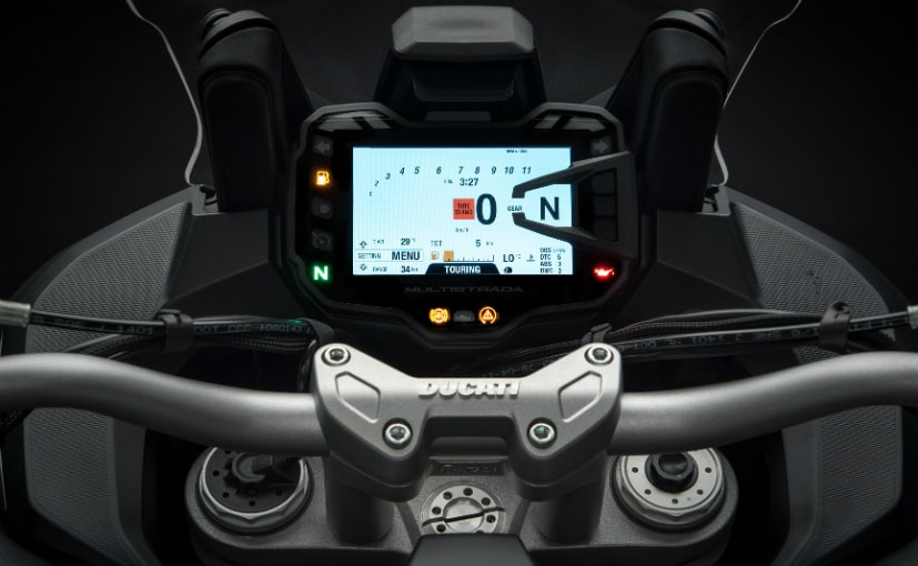 ducati multistrada 1260 s tft screen