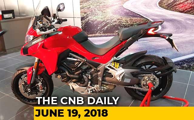 Ducati Multistrada 1260, Kawasaki Ninja 1000, Jeep Compass Bedrock Edition
