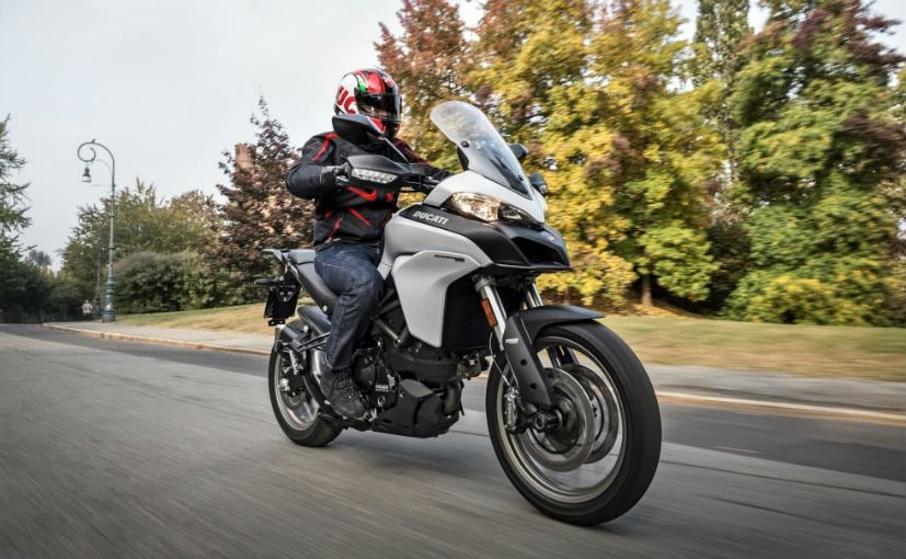 The prices for the Ducati Multistrada 950 start at Rs. 12.8 lakh (ex-showroom, Delhi)