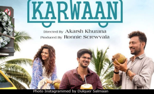 KarwaanPoster: Irrfan Khan, Dulquer Salmaan, Mithila Palkar Trace A Wonderful 'Journey Of A  Lifetime'