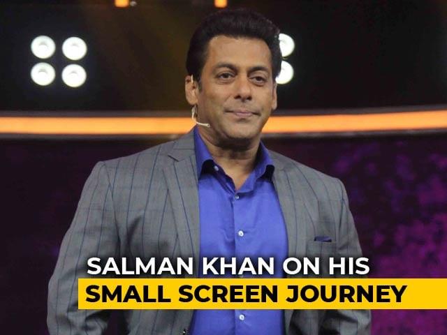 Salman Khan At The Launch Of 10 Ka Dum 3