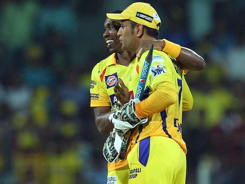 IPL 2018: MS Dhoni Features In Dwayne Bravo