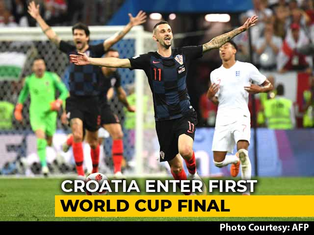 FIFA World Cup 2018: Croatia Enter First World Cup Final, England