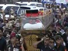 M Karunanidhi Buried At Chennai's Marina Beach: Highlights
