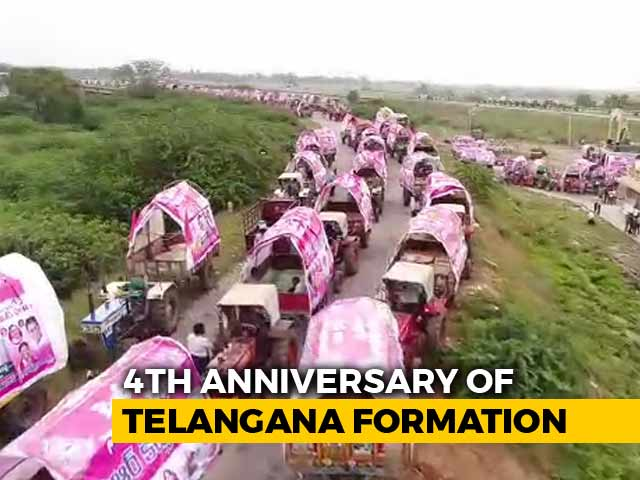 """Video : For Key Announcement, Telangana's TRS Plans """"Mother Of All Meetings"""""""