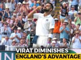 India vs England 1st Test Hangs In Balance After Virat Kohli's Day 2 Heroics