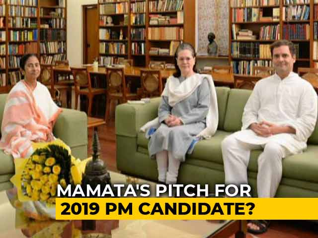 "Video : ""BJP Finish..."": Mamata Banerjee's Day Of Power Meetings With Eye On 2019"