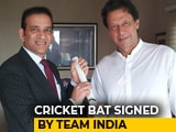 Video : At Envoy Meet With Imran Khan, A Gift, Regards From Indian Cricket Team