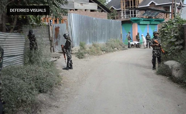 Search Operation Underway In Jammu And Kashmir's Shopian
