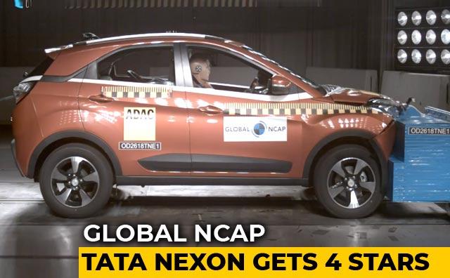 Tata Nexon Gets Four Stars From Global NCAP