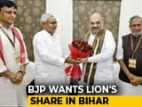 Video : BJP Floats Bihar Seat-Share Math, Gets 'F' From Nitish Kumar's Party