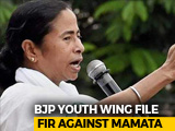 "Video : After ""Civil War, Bloodbath"" Remark, Police Case Against Mamata Banerjee"