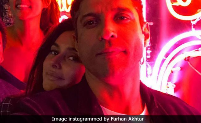 Rumoured Couple Farhan Akhtar And Shibani Dandekar S Instagram