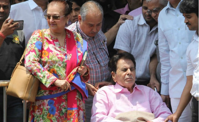 Dilip Kumar In Hospital For Chest Infection; 'He's Recuperating,' Says Tweet