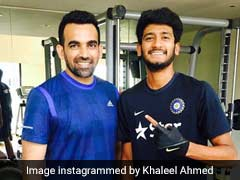 Asia Cup 2018: Young Rajasthan Seamer Khaleel Ahmed Aims To Emulate Idol Zaheer Khan