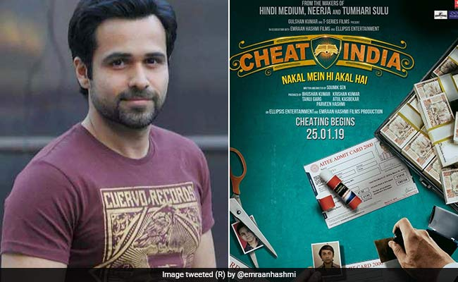 Cheat India: Emraan Hashmi Shares Glimpse Of Film On Education Scam
