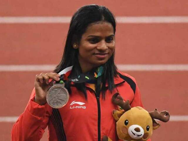 Asian Games 2018: Dutee Chand Clinches Silver In Womens 200M