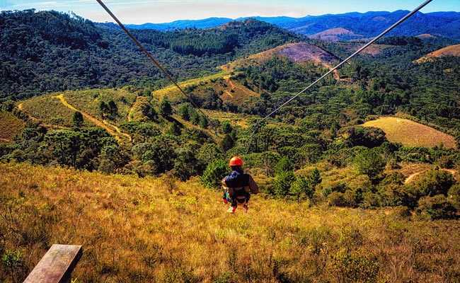 Honeymooning couple collide in fatal zip line accident