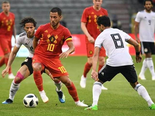 FIFA World Cup: Eden Hazard Hones Form In Belgiums 3-0 Friendly Win Over Egypt