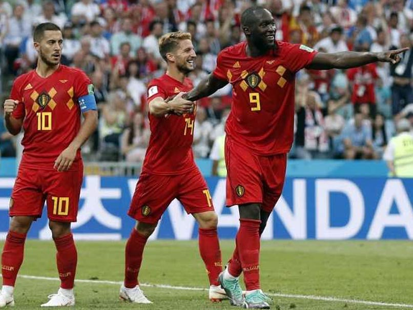 Lukaku breaks Belgium record against Tunisia