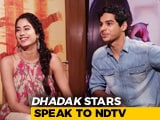 Video: Janhvi & Ishaan On <i>Dhadak</i>, Social Media Fame & More
