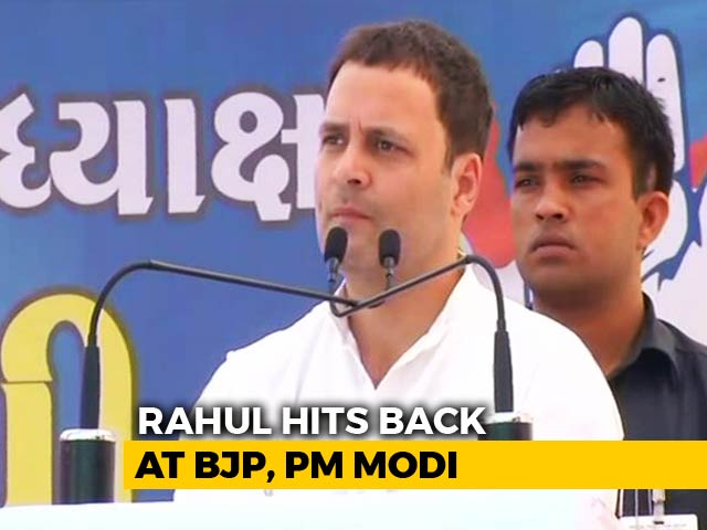 "Video : Rahul Gandhi's ""I Am Congress"" Reply To Row Over ""Muslim Party"" Remarks"