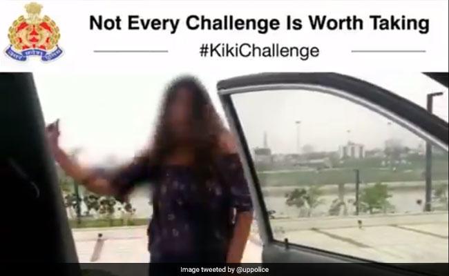 #kikichallenge करने के चक्कर में हुआ खतरनाक हादसा, Video Viral