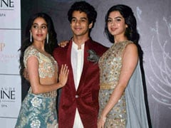 Janhvi, Khushi Kapoor And Ishaan Khatter Make A Colourful Splash At The Manish Malhotra Show