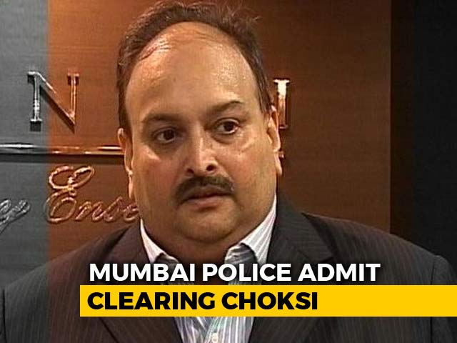 Video : Mumbai Cops' Clearance To Mehul Choksi Reveals Loophole, Inquiry Ordered