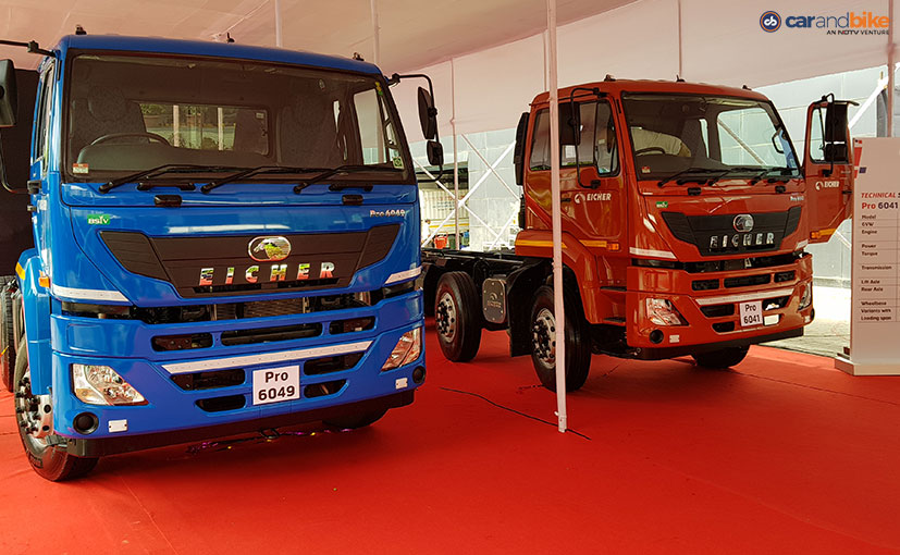 eicher pro 6049 and pro 6041 trucks