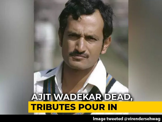 Video : Tributes Pour In For Cricket Legend Ajit Wadekar