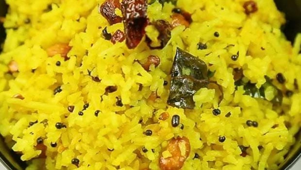Indian Cooking Tips: How To Make South Indian Lemon Rice (Recipe Video)