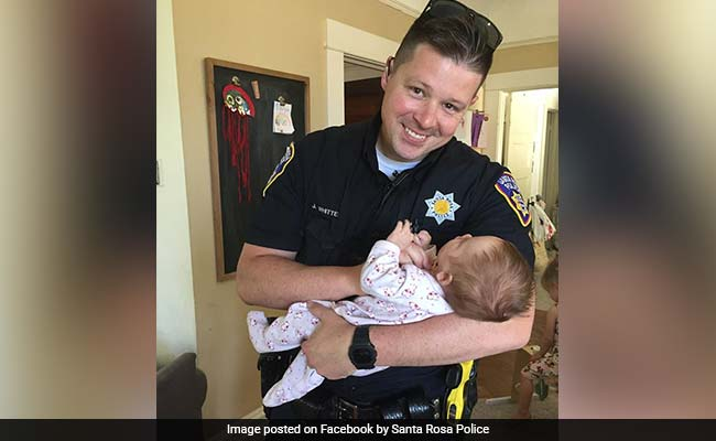 The Heartwarming Story Of How A US Cop Adopted Homeless Woman's Baby