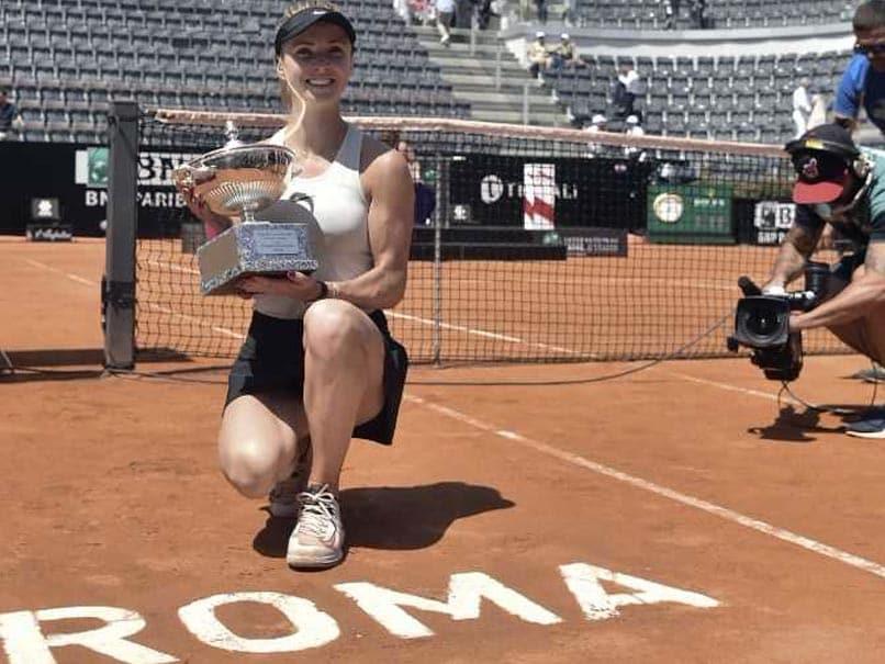 Elina Svitolina Stuns Simona Halep To Win Italian Open