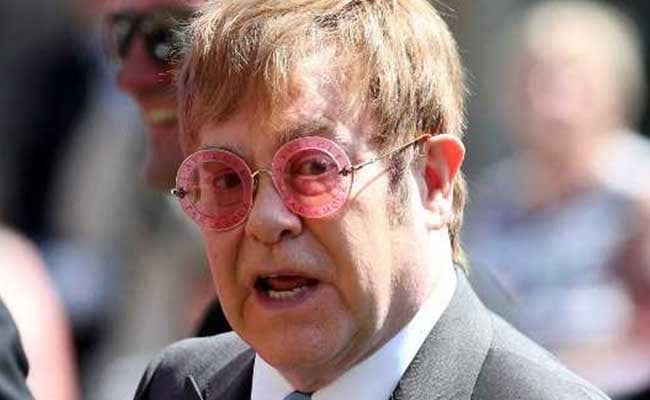 elton john royal wedding afp