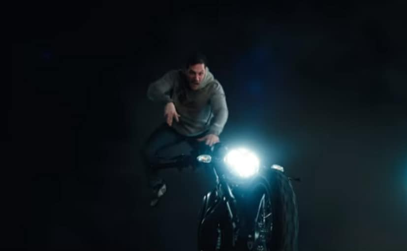 The Scrambler 1100 is ridden by actor Tom Hardy's character in the film