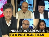 Video: India Bids Farewell To Its Bharat Ratna, Atal Bihari Vajpayee