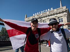 World Cup 2018: Low Turnout But Warm Welcome For England In Volgograd