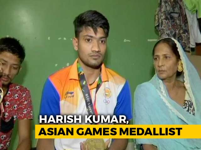 Video : Harish Kumar, Asian Games Medallist, Supports Family By Helping Father Sell Tea