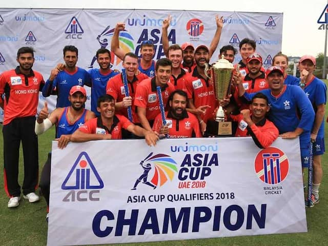 ASIA CUP: Thats how Hongkong qualified for the Asia Cup by beating UAE